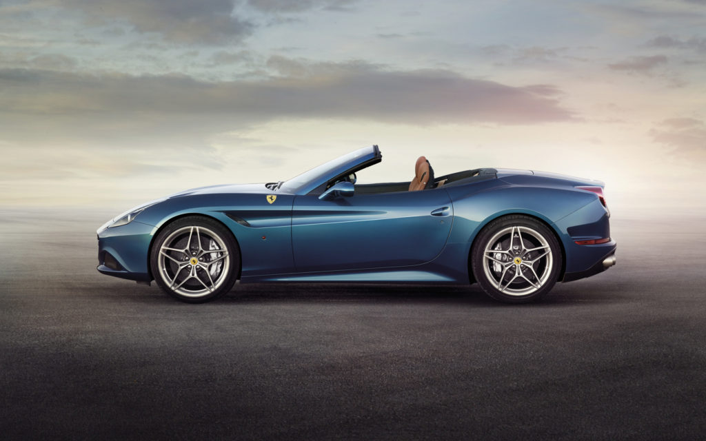 Ferrari California Widescreen Wallpaper