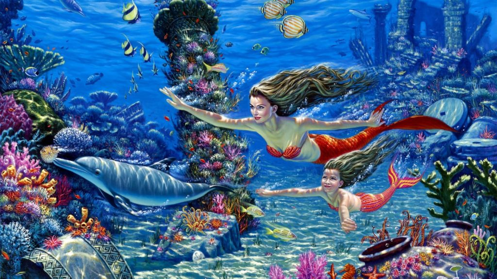 Mermaid Full HD Wallpaper