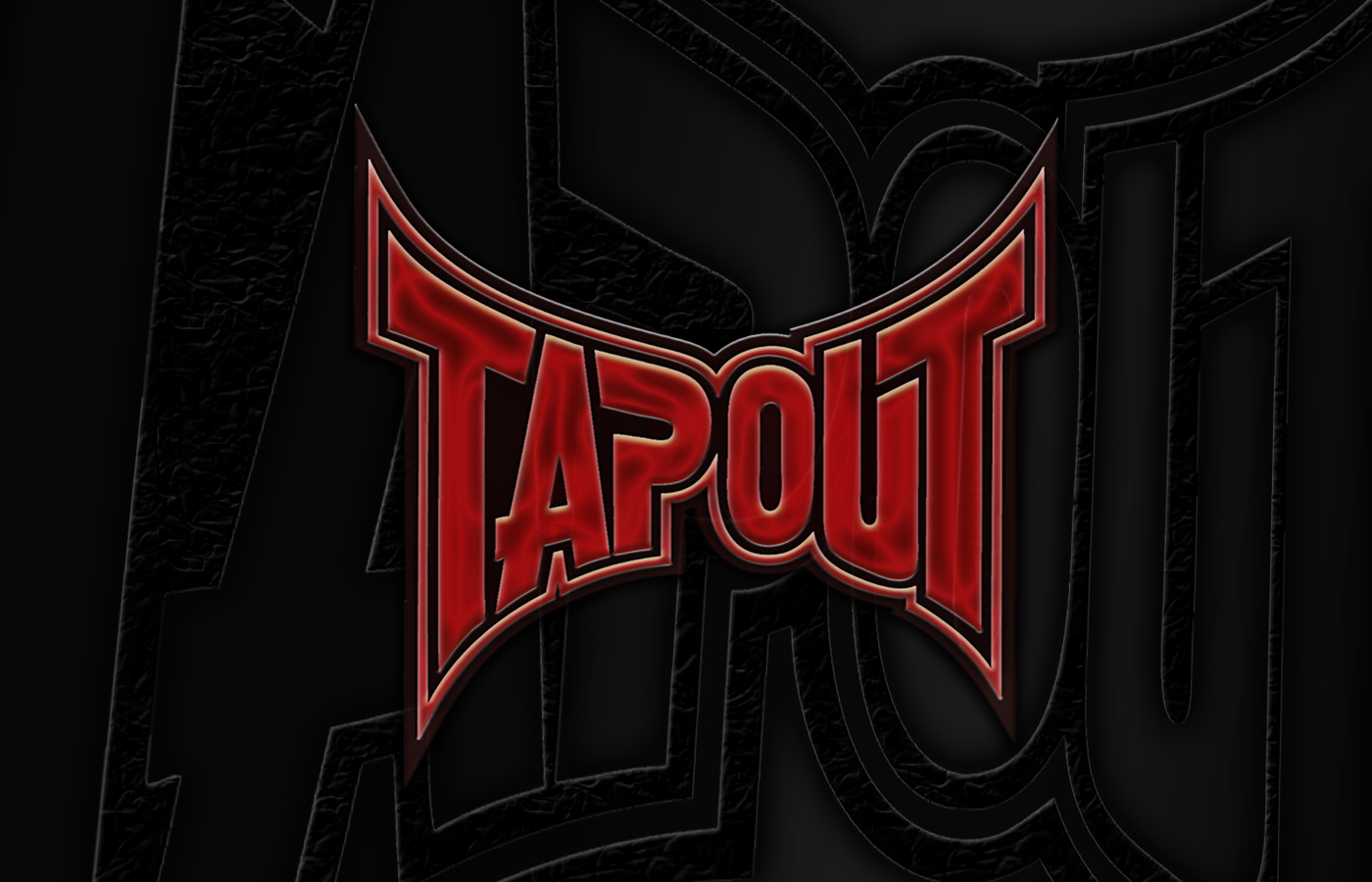 tapout logo red mma - photo #16