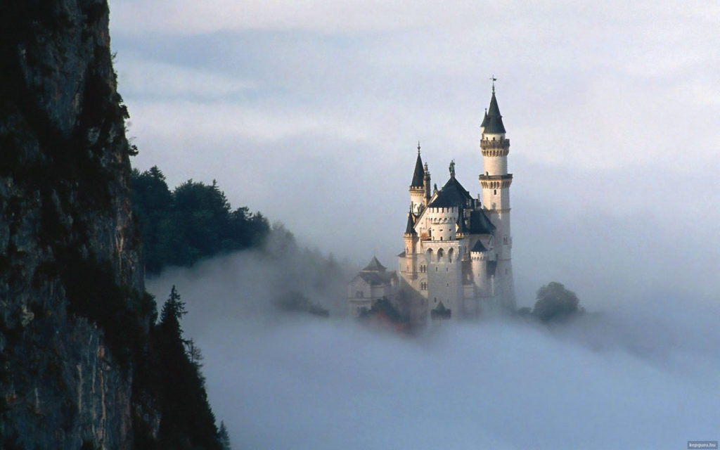 Neuschwanstein Castle Widescreen Wallpaper