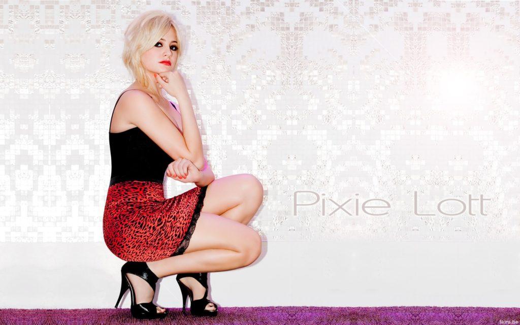 Pixie Lott Widescreen Background