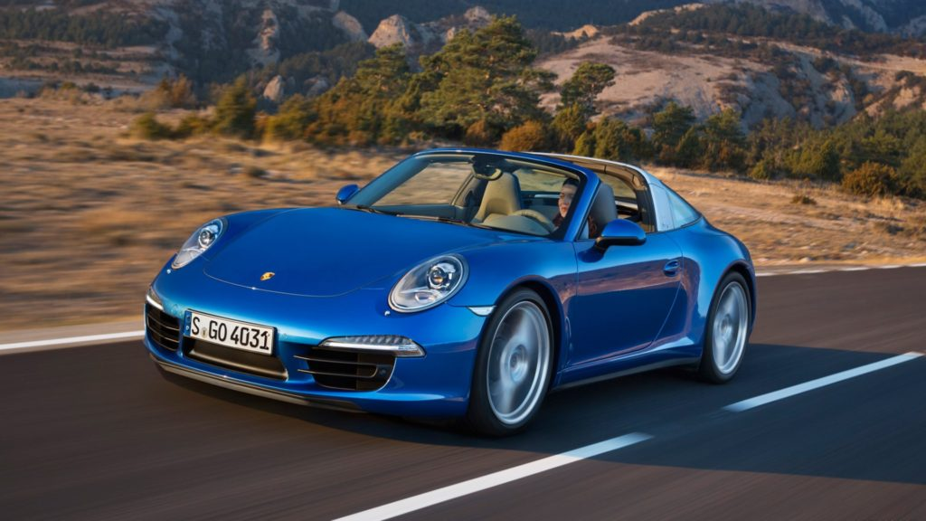 Porsche 911 Targa Full HD Wallpaper