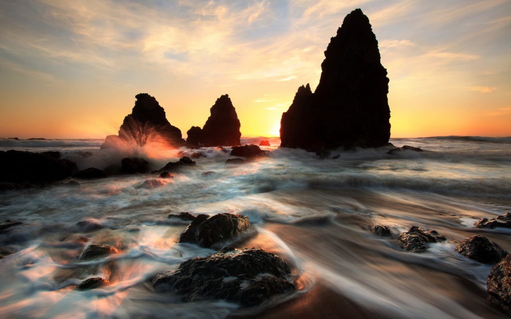 Seascape Widescreen Wallpaper 1920x1200