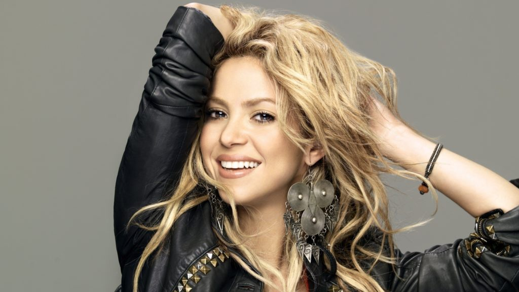 Shakira Full HD Background