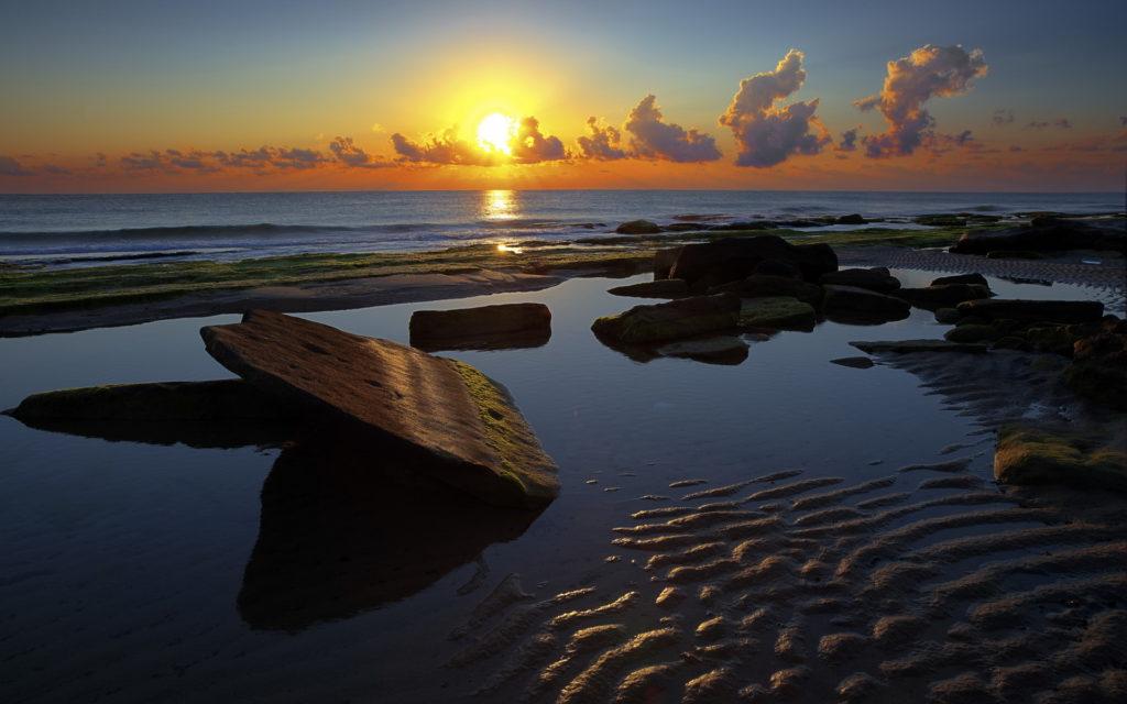 Sunset Widescreen Background