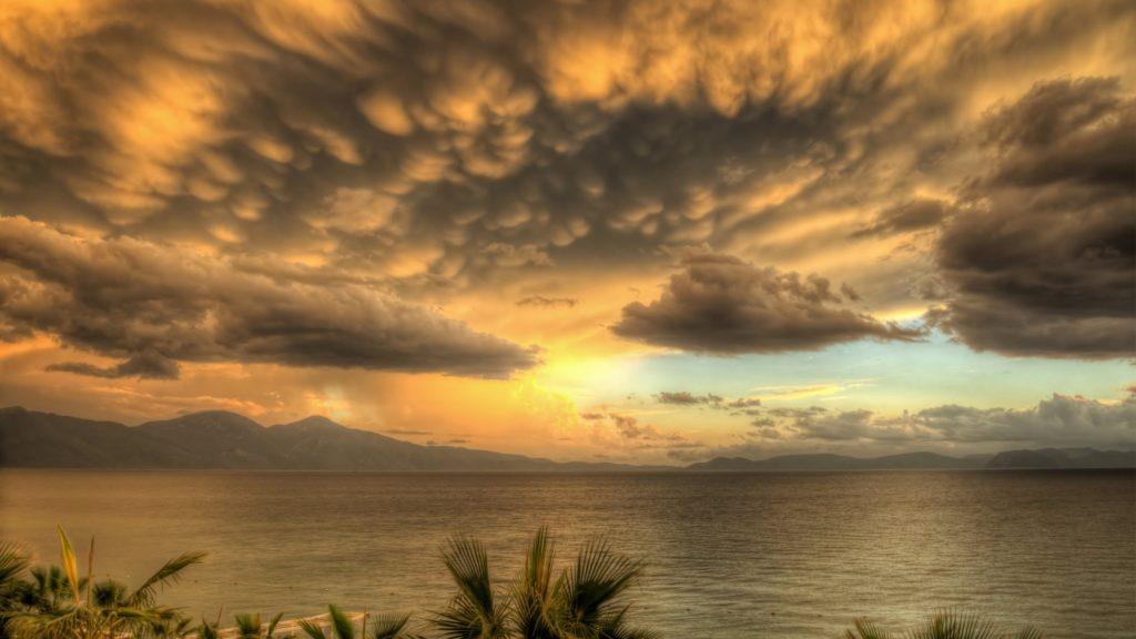 Sunset 4K UHD Background