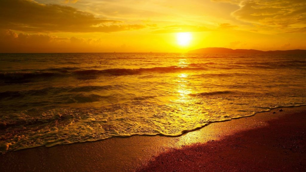 Sunset Full HD Background