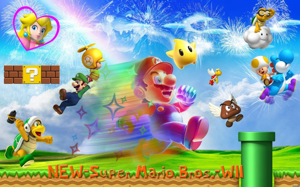 Super Mario Bros. Widescreen Wallpaper 2560x1600