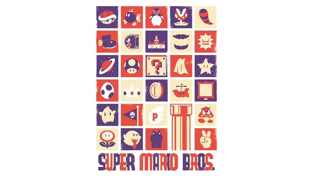Super Mario Bros. Full HD Wallpaper 1920x1080