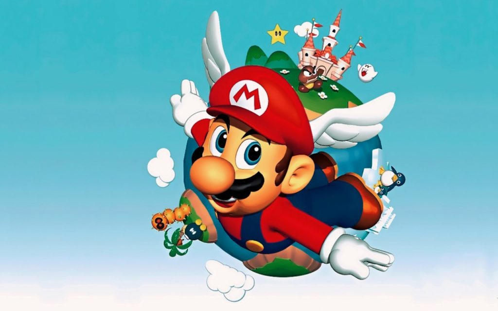 Super Mario Bros. Widescreen Wallpaper 1280x800
