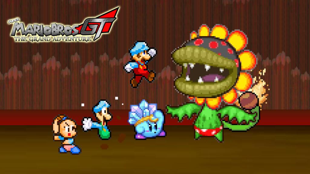 Super Mario Bros. Wallpaper 2500x1406