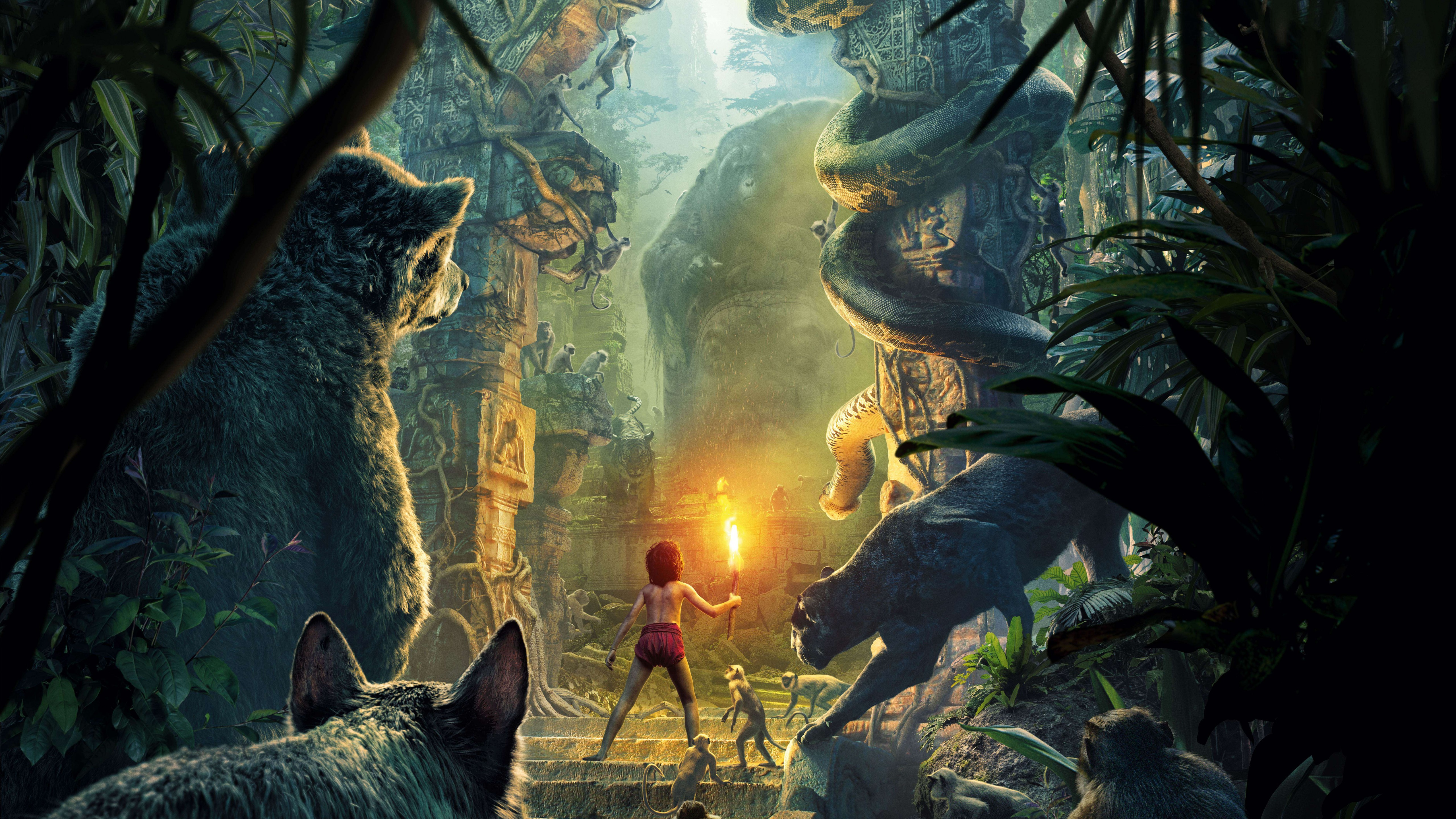 the jungle book 2016 wallpapers pictures images