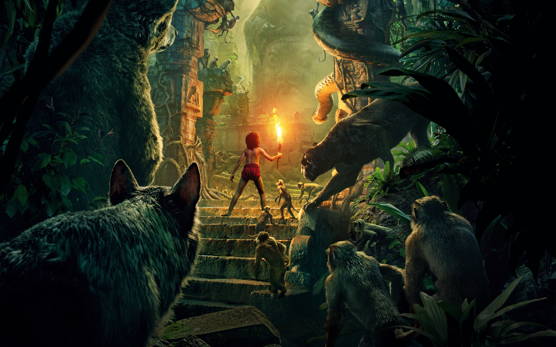 Hd wallpaper jungle - The Jungle Book 2016 Widescreen Wallpaper
