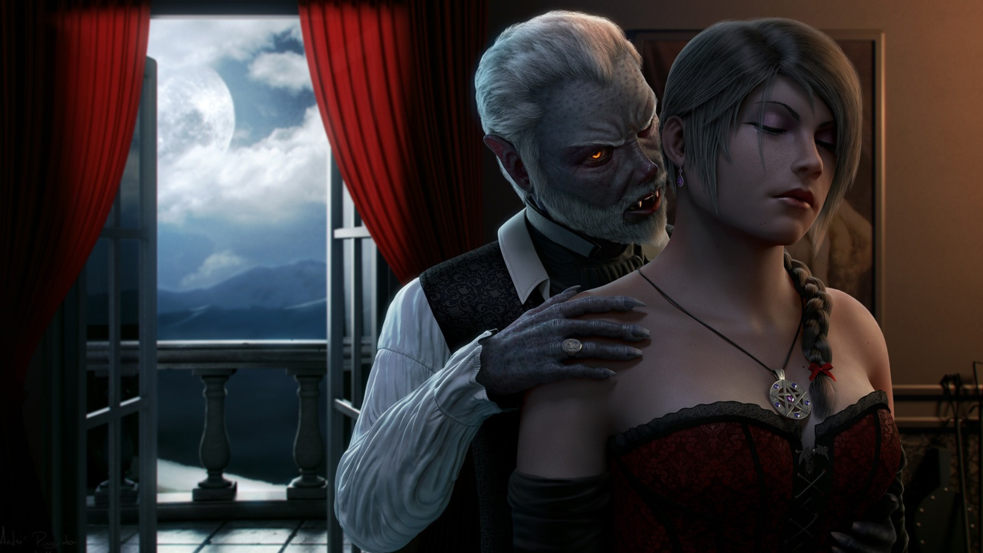 vampire wallpapers  pictures  images