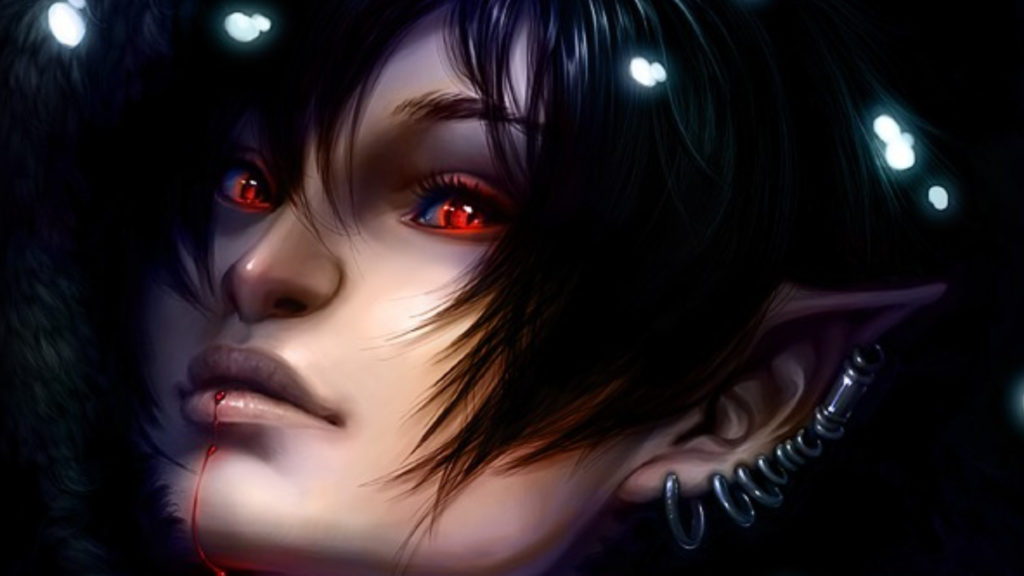 Vampire Full HD Wallpaper