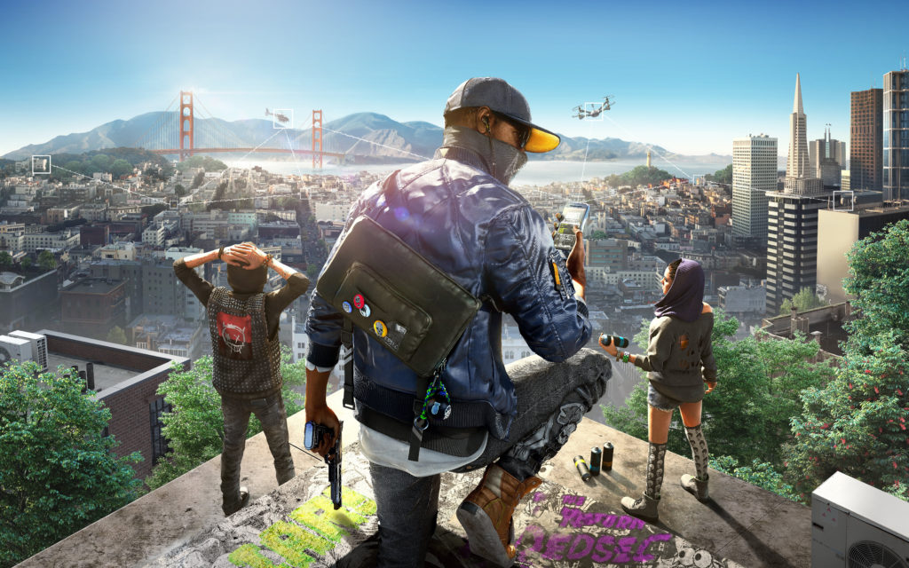 Watch Dogs 2 Wallpaper 8015x5009
