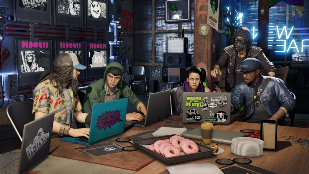 Watch Dogs 2 Wallpaper 4096x2304