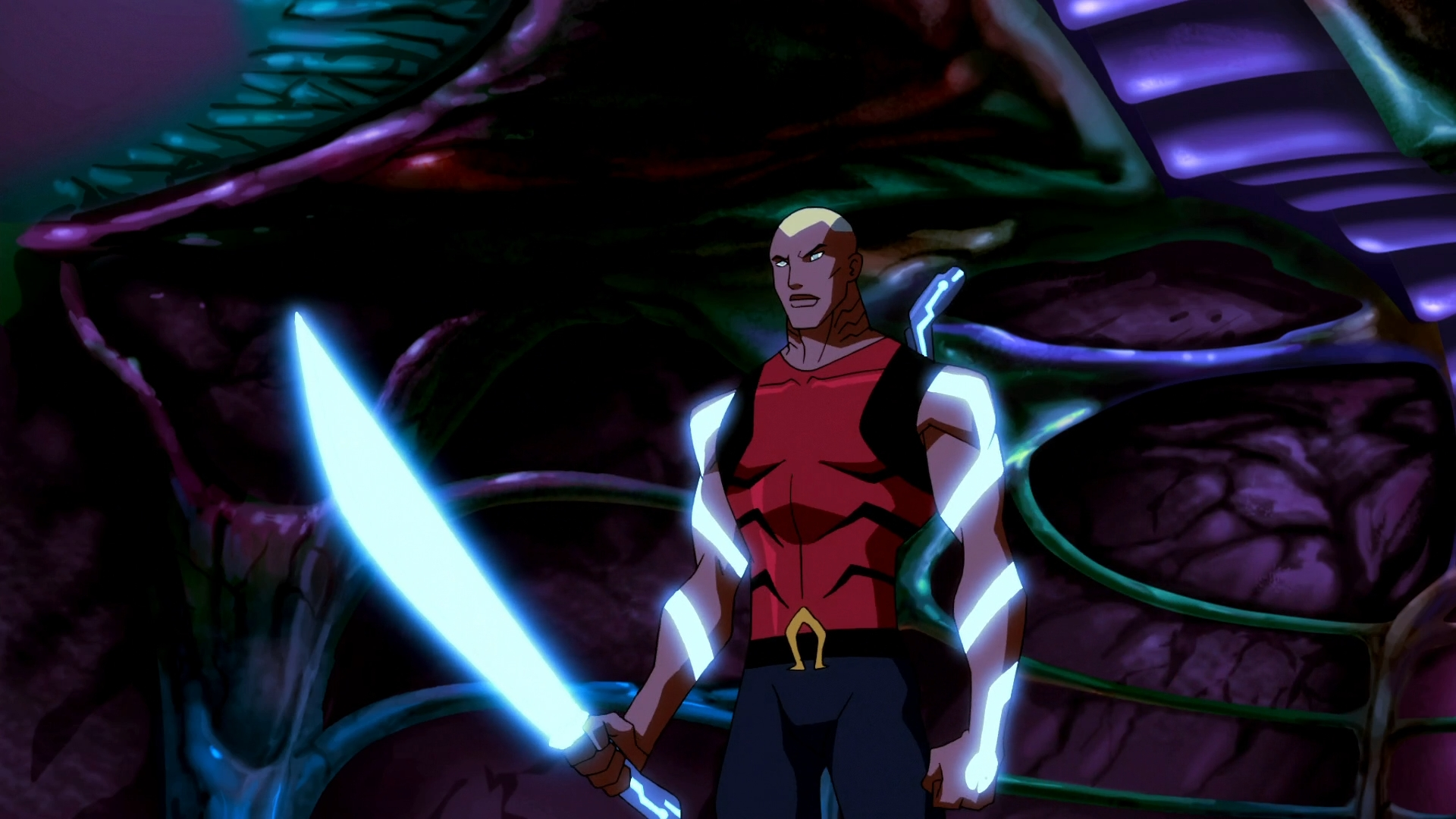 Young Justice Full HD Wallpaper 1920x1080