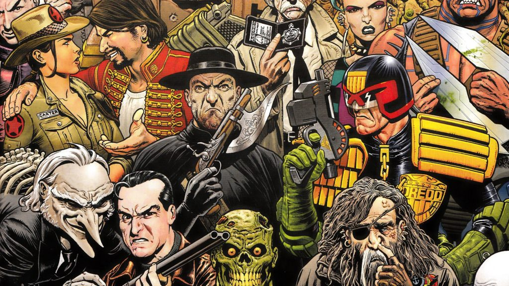 2000 AD Wallpaper
