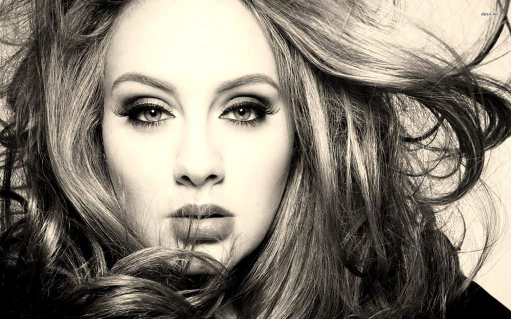 Adele Widescreen Background