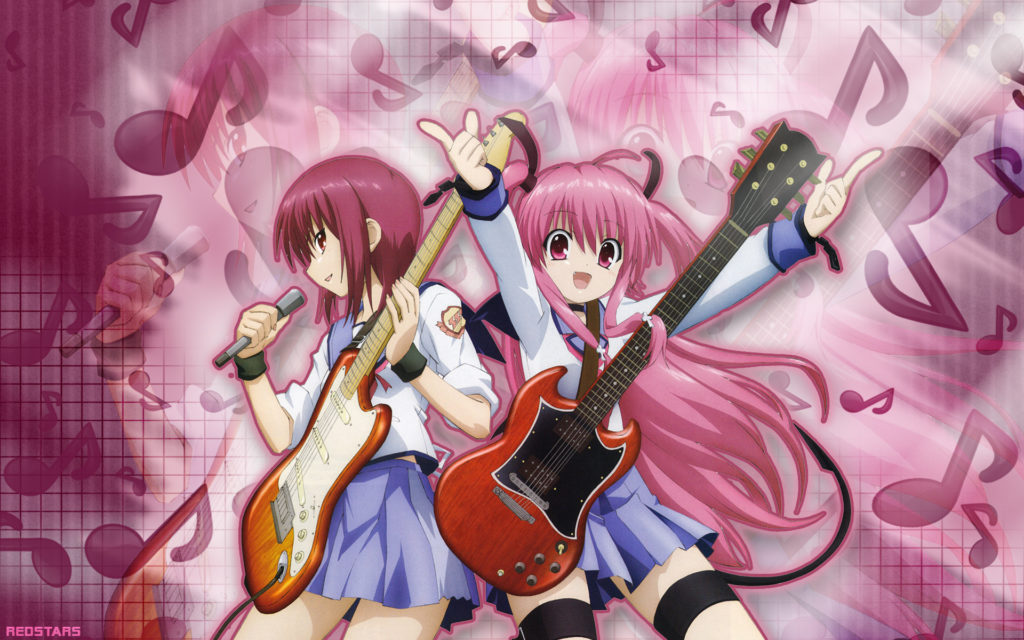 Angel Beats! Widescreen Wallpaper