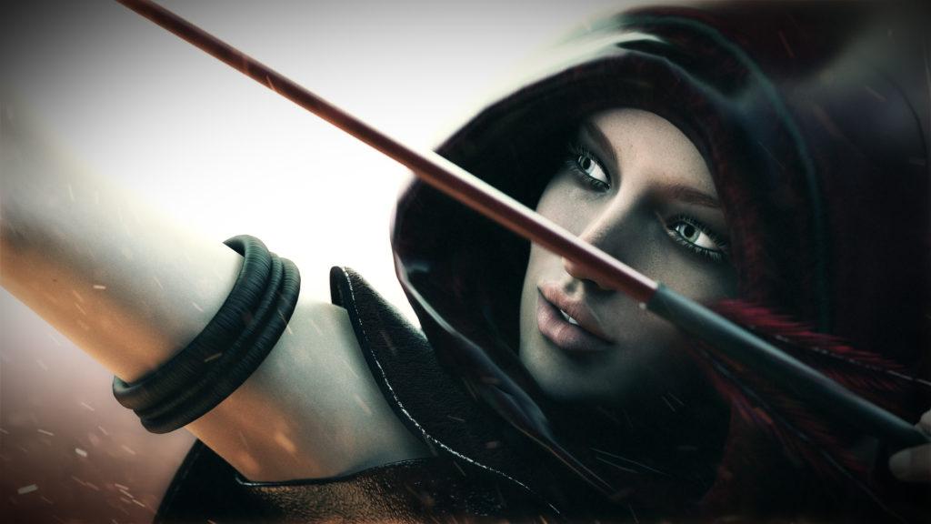 Archer Full HD Wallpaper