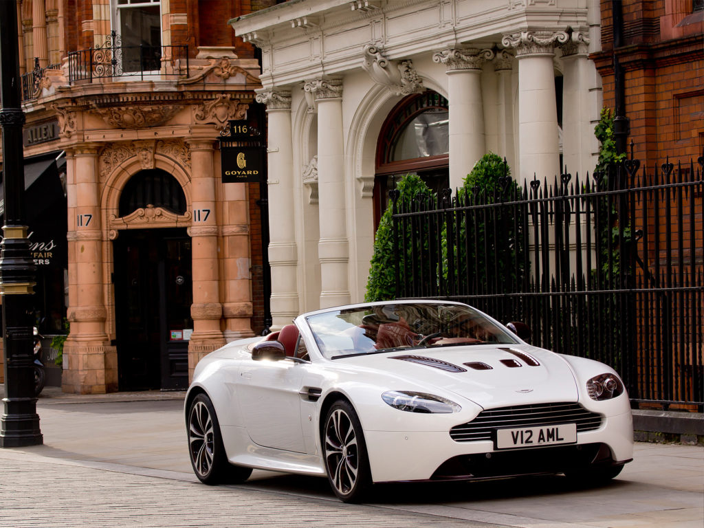 Aston Martin V12 Vantage Wallpaper