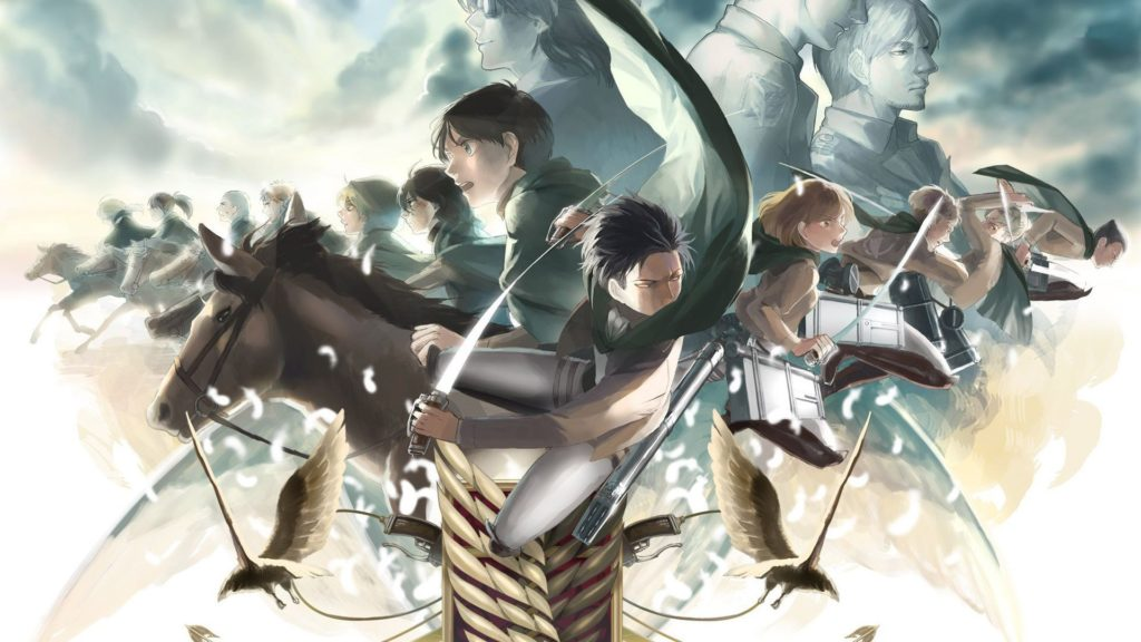 Attack On Titan Full HD Wallpaper