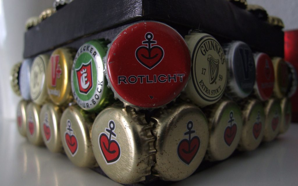 Beer Bottle Caps Widescreen Wallpaper