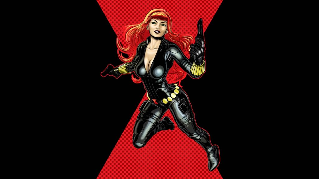 Black Widow Full HD Wallpaper