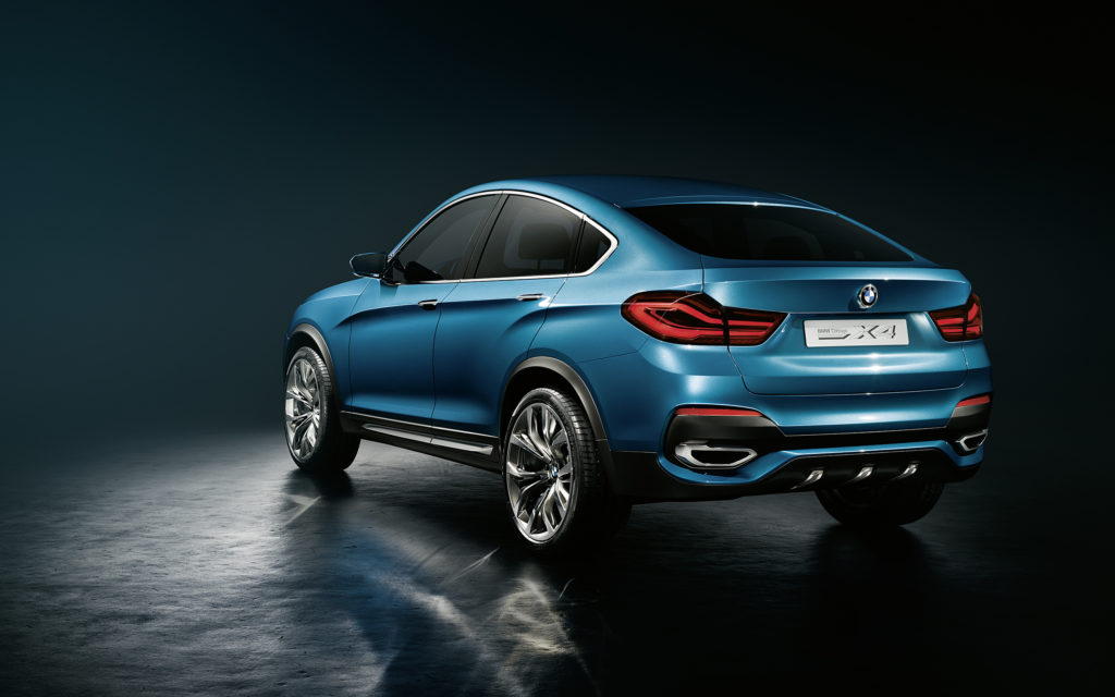 BMW X4 Widescreen Wallpaper