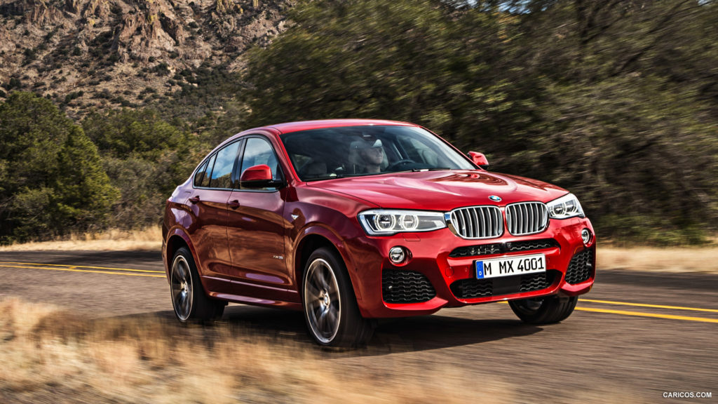 BMW X4 Full HD Wallpaper