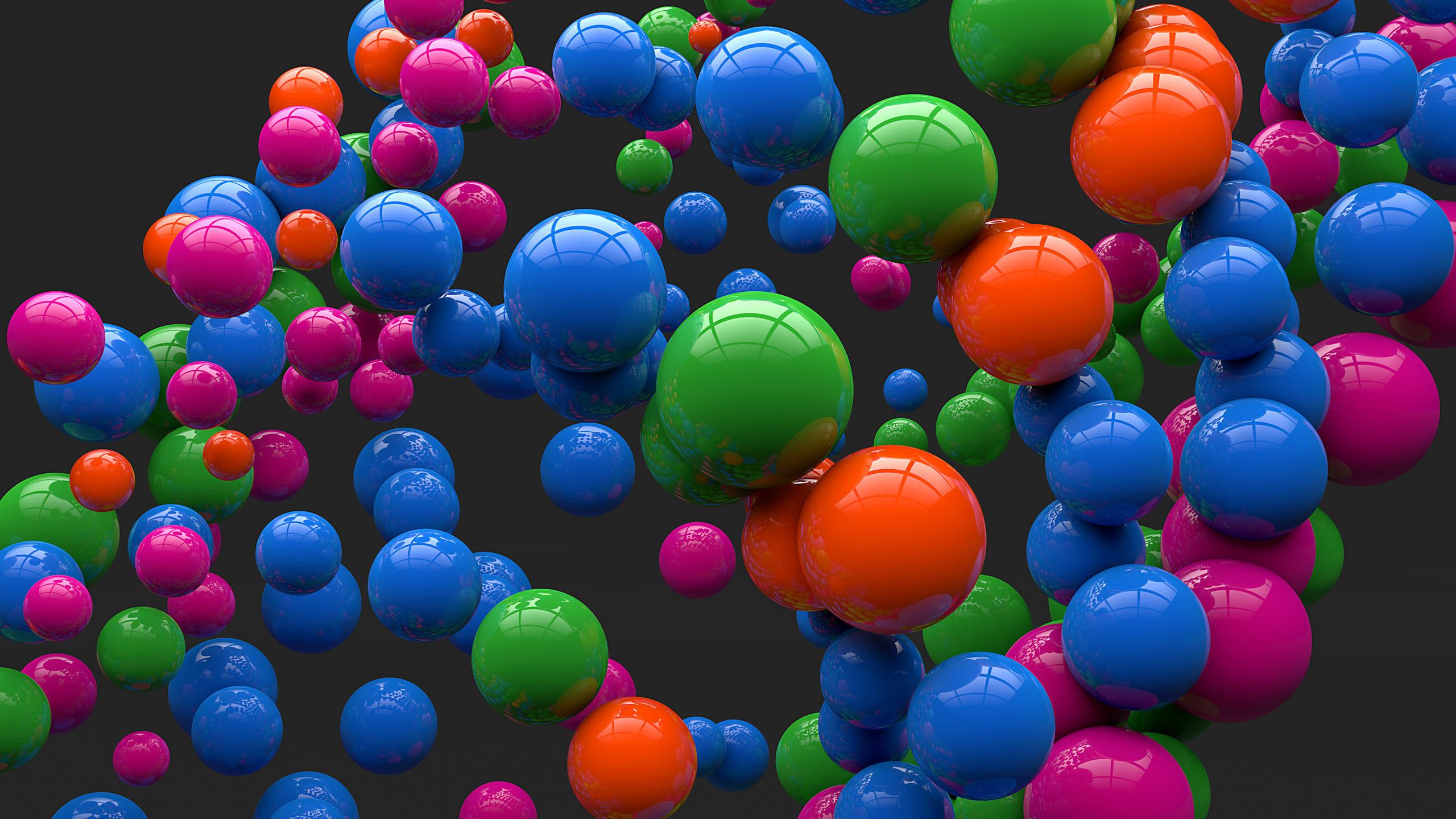 Cool Orange Bubbles wallpaper x