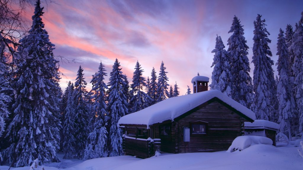 Cabin Full HD Wallpaper