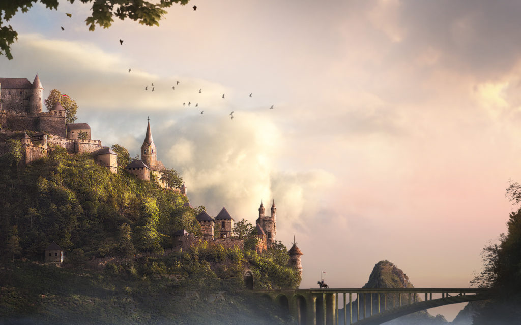 Castle Widescreen Wallpaper