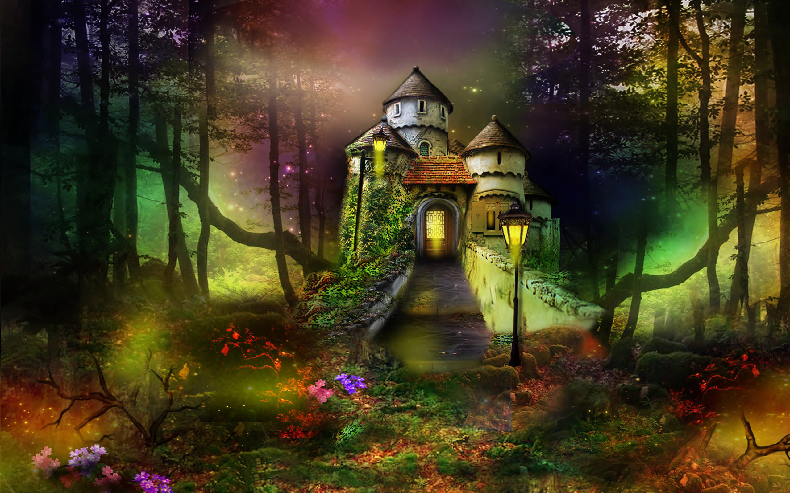 Castle wallpapers pictures images for 3d home wallpaper for pc