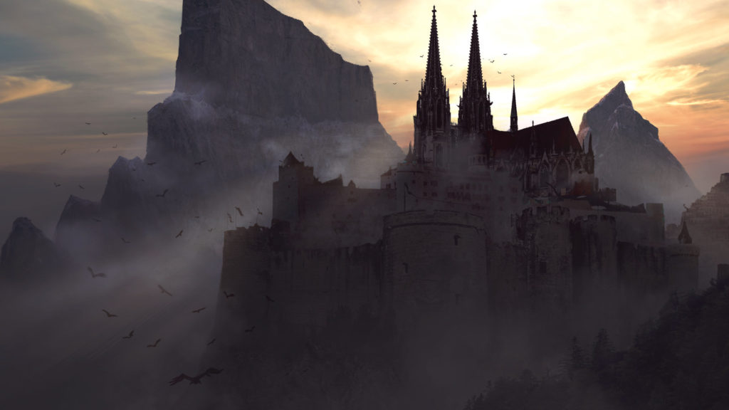 Castle Full HD Wallpaper