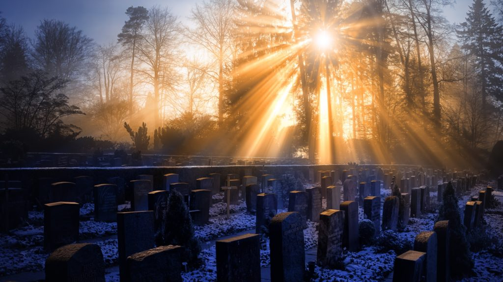 Cemetery Full HD Wallpaper