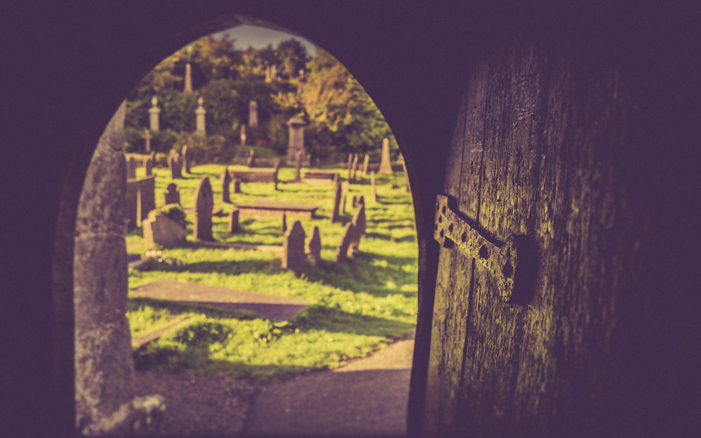 Cemetery Widescreen Wallpaper