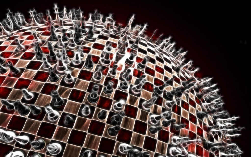 Chess Widescreen Background
