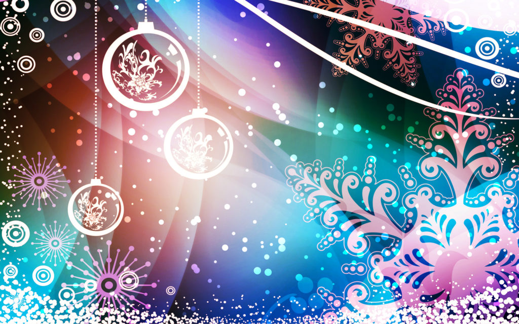 Christmas Widescreen Background