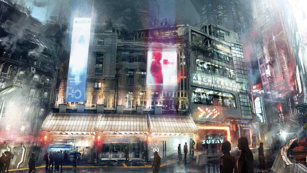 City Full HD Wallpaper