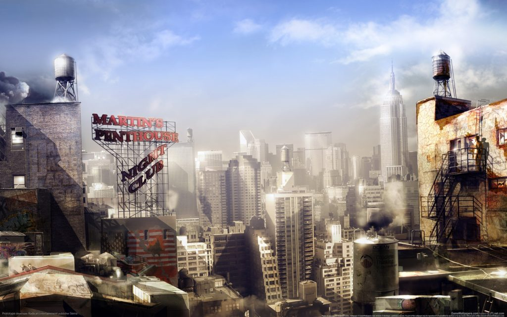 City Widescreen Wallpaper