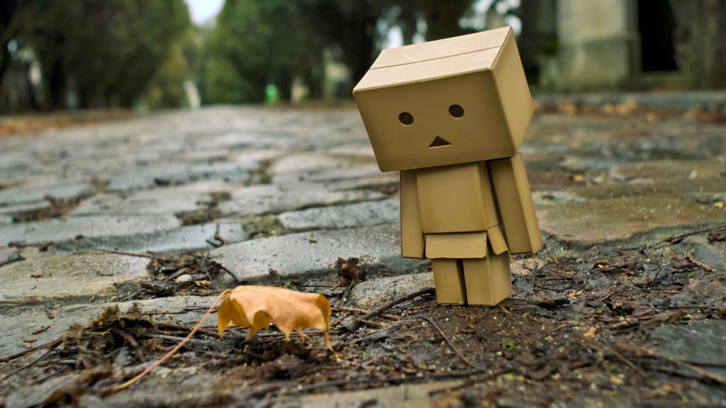 Danbo Full HD Background