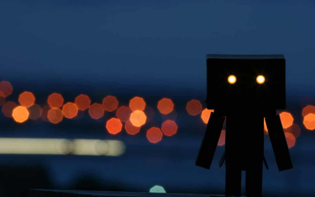 Danbo Widescreen Background