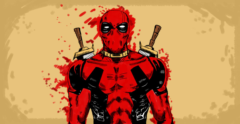 Deadpool Background