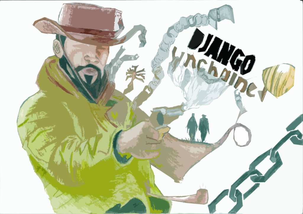 Django Unchained Wallpaper 4502x3182