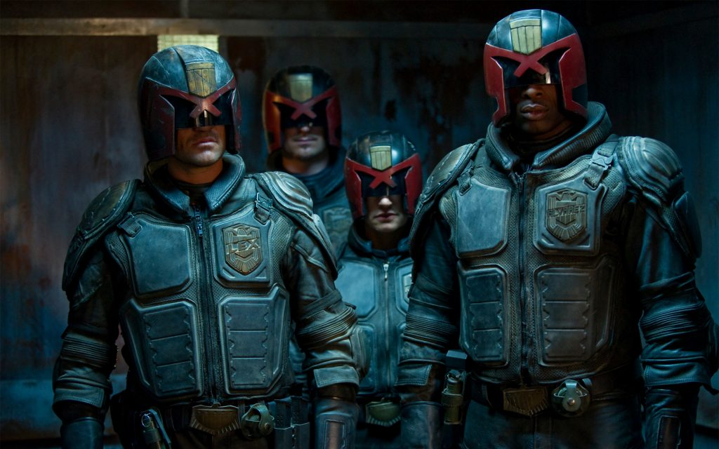 Dredd Widescreen Wallpaper