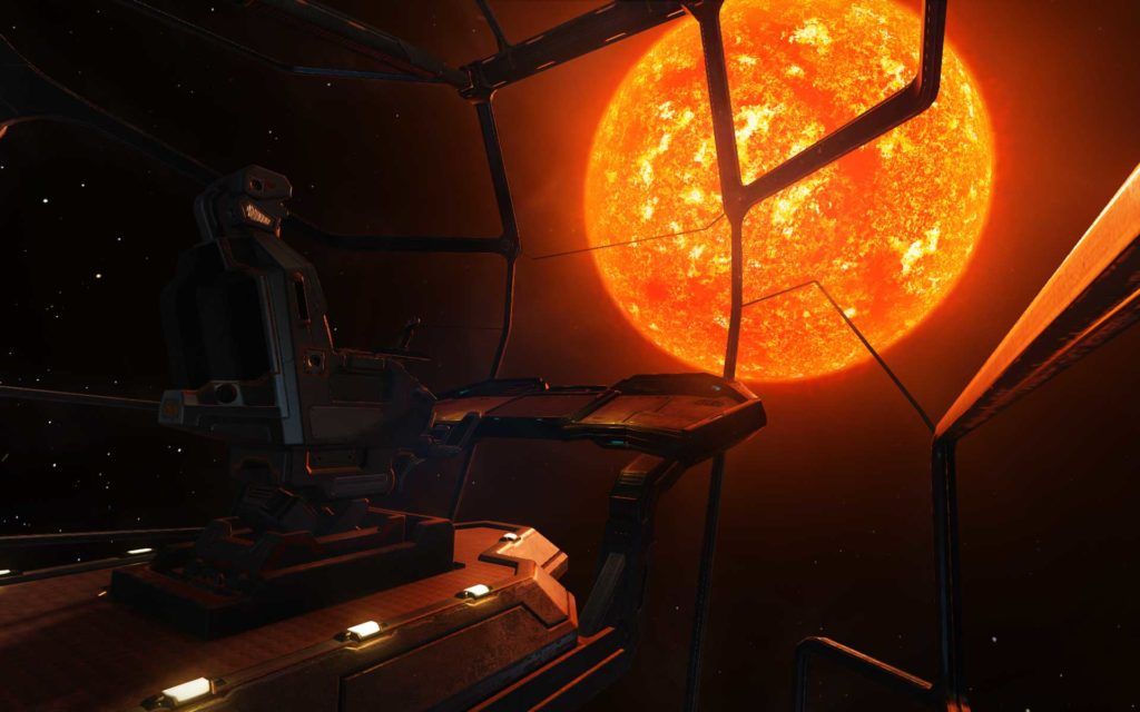 Elite: Dangerous Widescreen Wallpaper