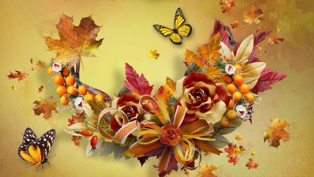 Fall Full HD Background